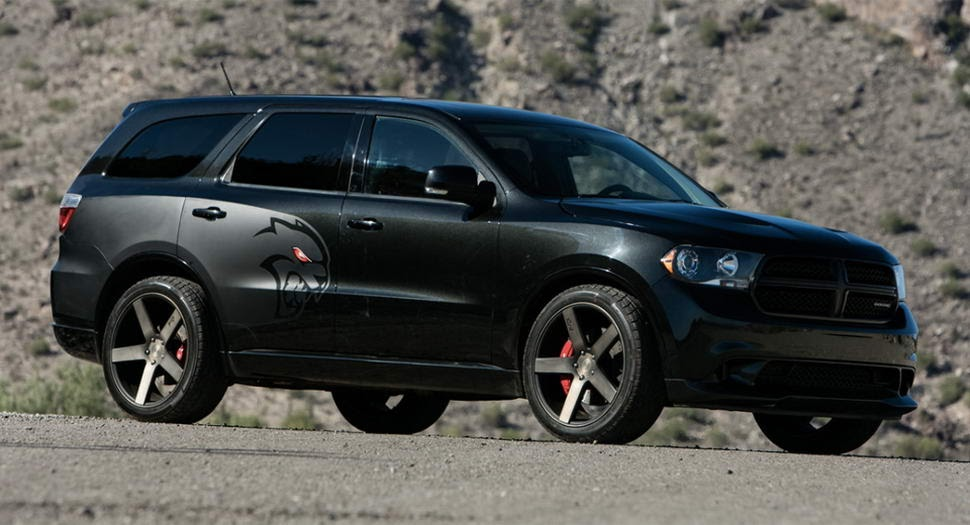 tuner creates hellcat powered dodge durango carscoops. Black Bedroom Furniture Sets. Home Design Ideas