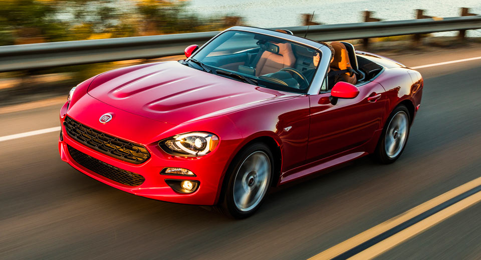 The Mazda MX 5 Based Fiat 124 Spider Will Be Sold In Three Trim Levels Of  2018, Including The Performance Oriented Abarth Variant. For The Latest  Model Year ...