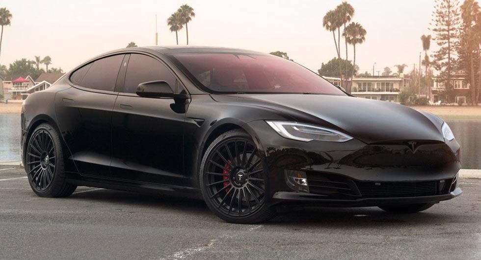 T Sportline Unveils A Sporty Tesla Model S P100D | Carscoops