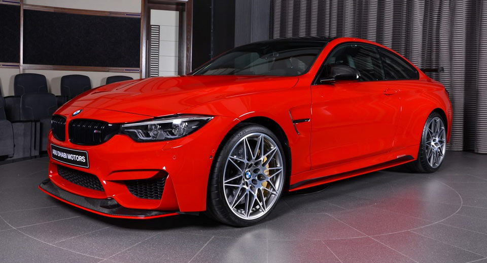 Ferrari Red Bmw M4 Is Delicious To Look At Carscoops