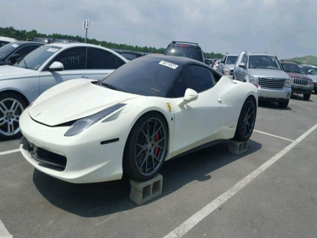 how much would you pay for a flooded ferrari 458 italia carscoops. Black Bedroom Furniture Sets. Home Design Ideas