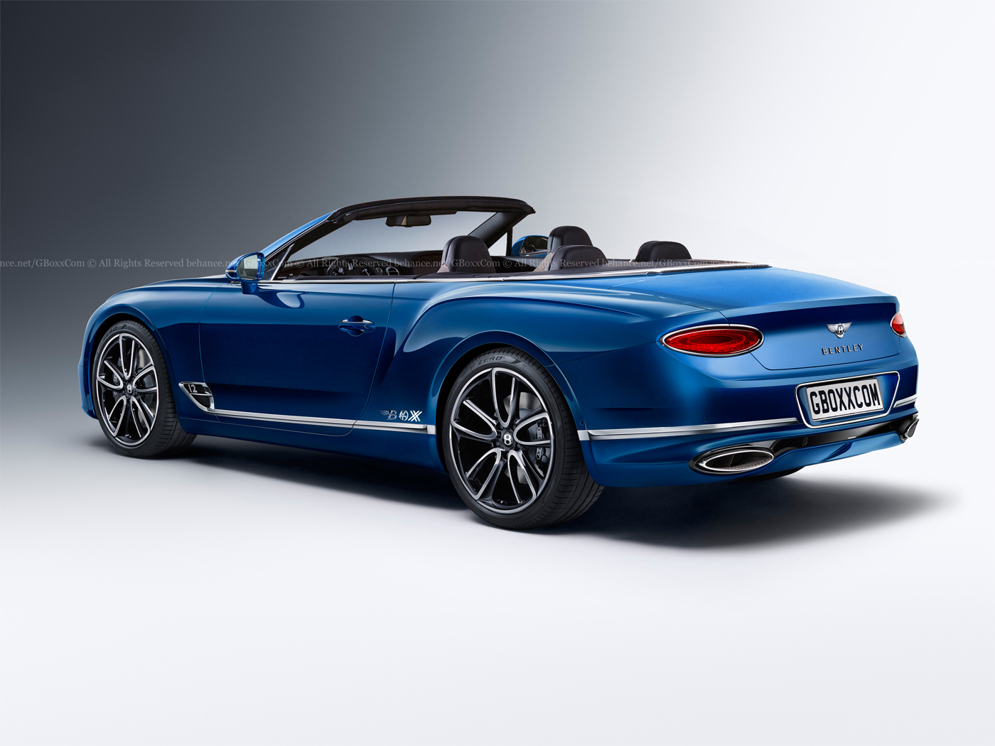 Yes, A 2018 Bentley Continental GT Cabriolet Would Look