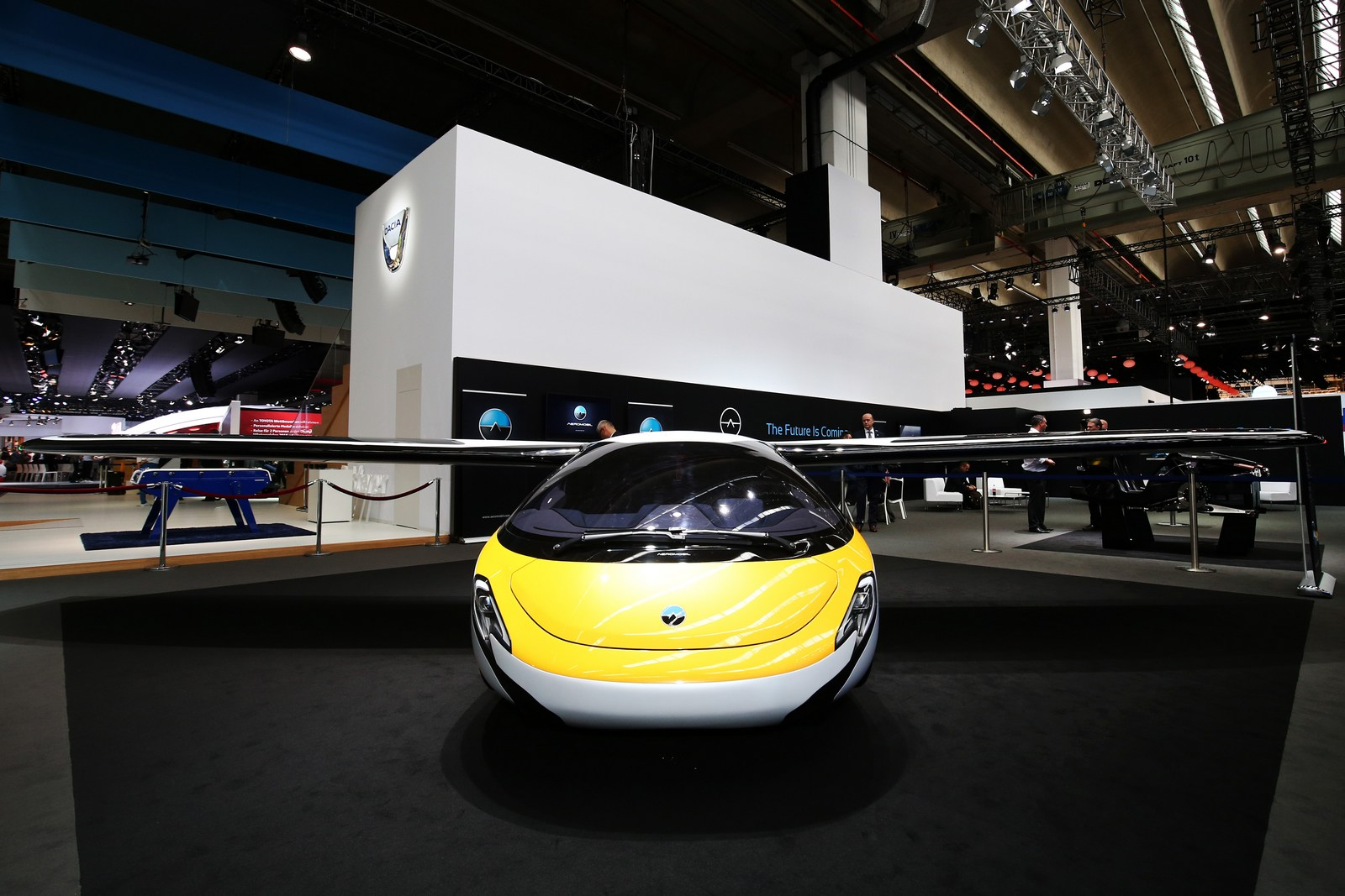 Aeromobil Flying Car Touches Down In Frankfurt Carscoops