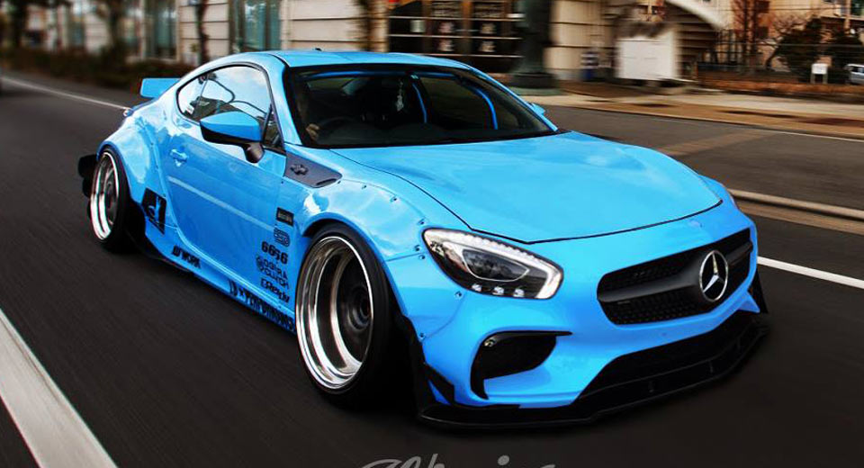 Toyota 86 Gets A Virtual Mercedes Amg Gt S Tune Carscoops