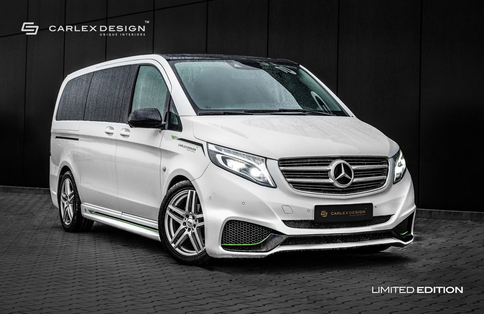 carlex design builds another sporty mercedes v