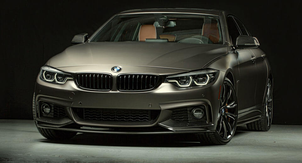 BMW 440i Gran Coupe Adorned With M Performance Parts For ...