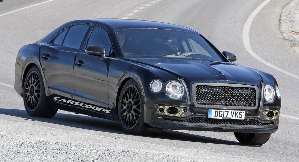 2019 Bentley Flying Spur Bringing Continental Swag With Four Doors | Carscoops & 2019 Bentley Flying Spur Bringing Continental Swag With Four Doors ...