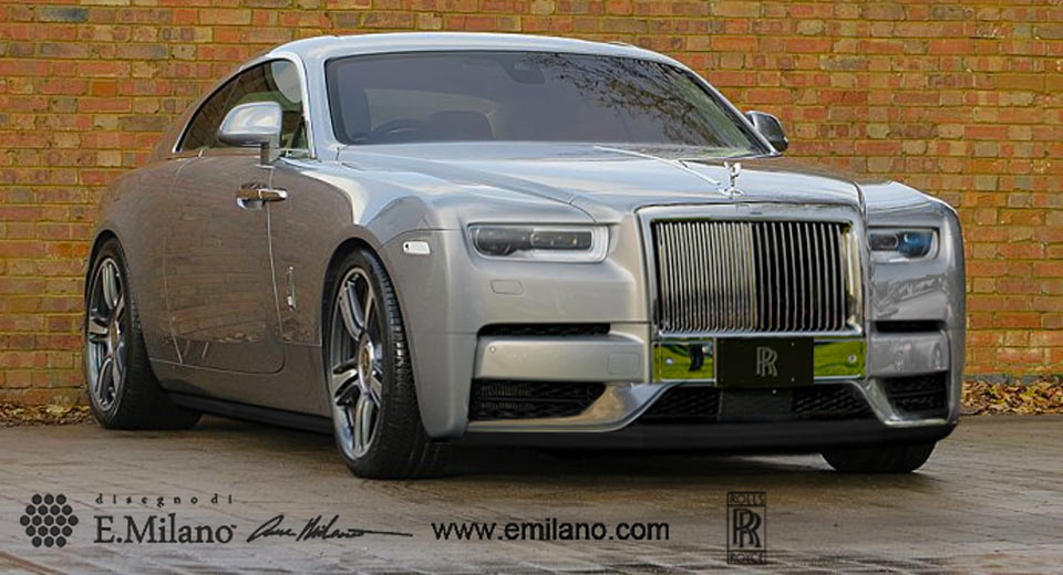 New Rolls Royce >> New Rolls Royce Wraith Could Look Exactly Like This Carscoops