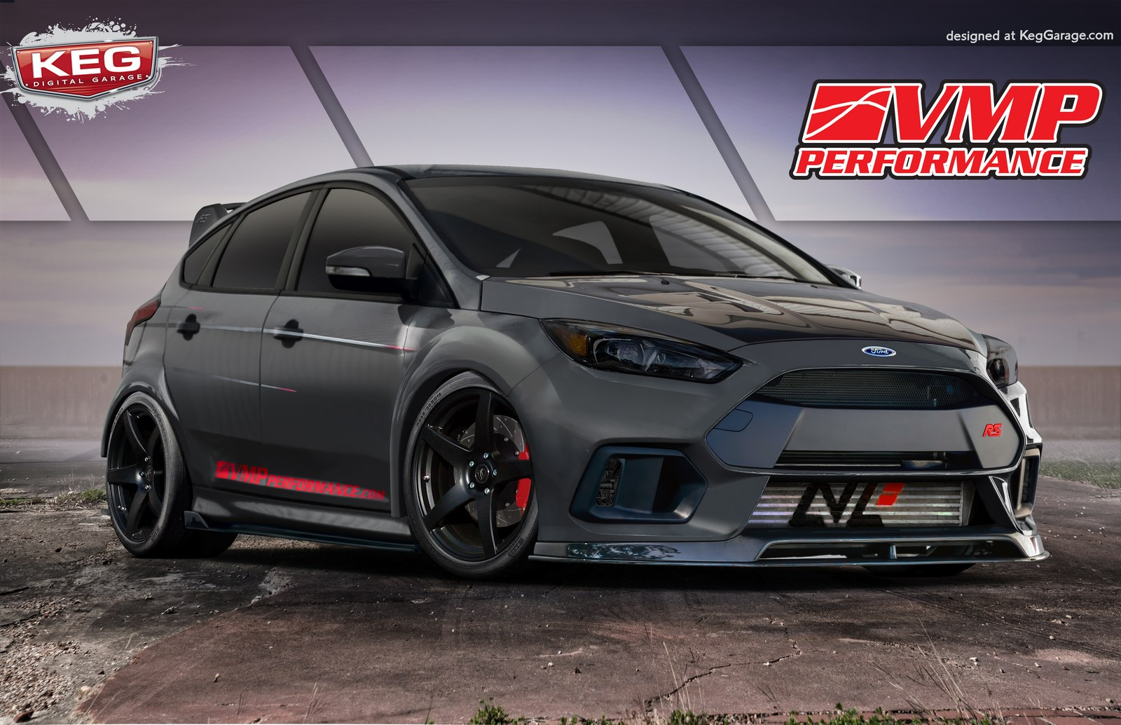 Ford Racing Focus St Cat Back