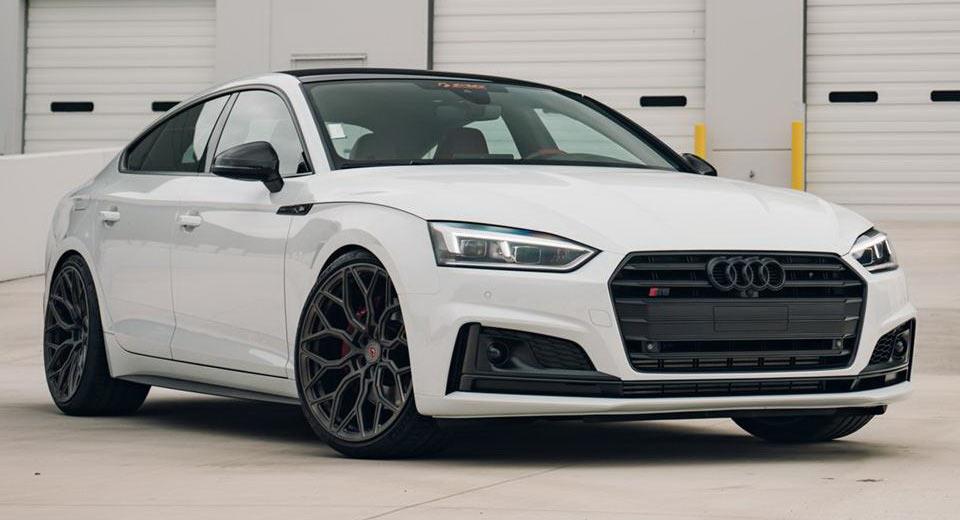2017 Audi S5 Sportback Tries On Stealth Gray Custom Rims