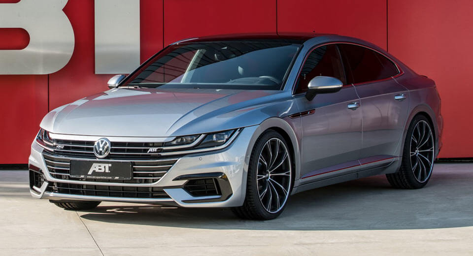 You Ask, ABT Delivers: VW Arteon Is Now 25 Percent More ...