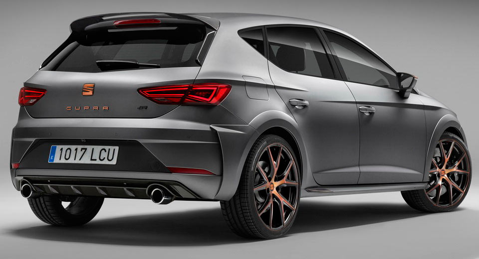 seat s most powerful leon cupra r limited to just 24 examples in the uk carscoops. Black Bedroom Furniture Sets. Home Design Ideas