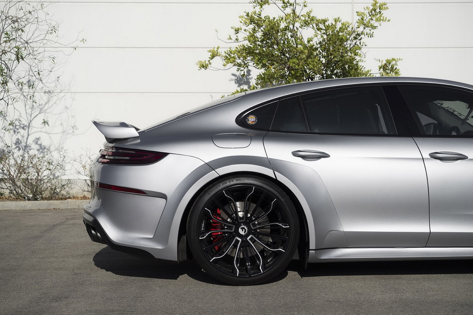 "Fastest Car In The World 2017 >> New Porsche Panamera Shows Off Widebody Kit And 22"" Wheels 