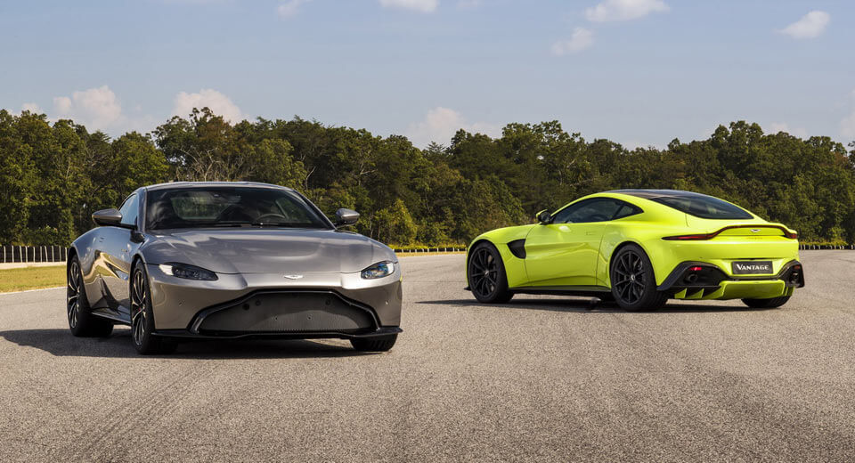 Aston Martin Actually Designed The New Vantage Before Bond S Db10 Carscoops