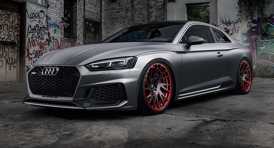 Matte Grey Car >> Matte Grey Audi Rs5 Is A Smooth Criminal Carscoops