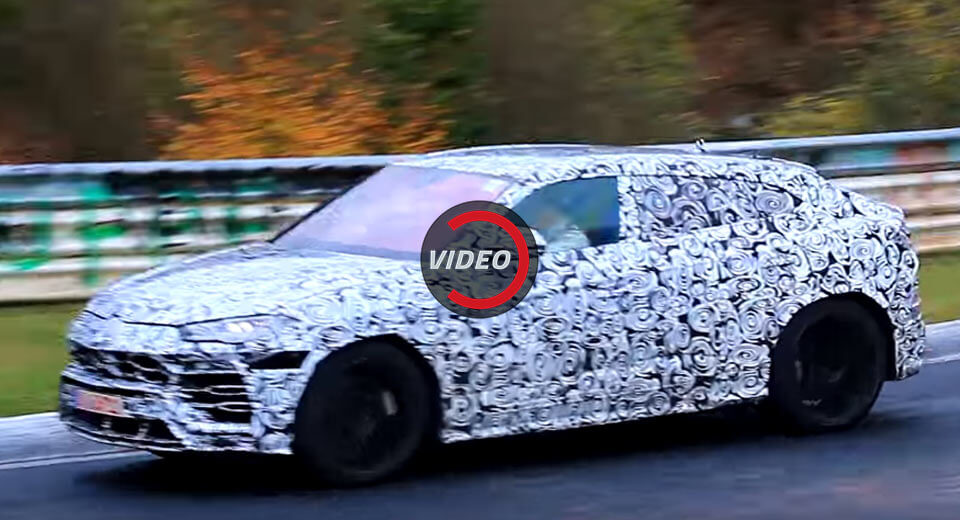 Lamborghini Urus Does The Rounds At The Nurburgring Carscoops