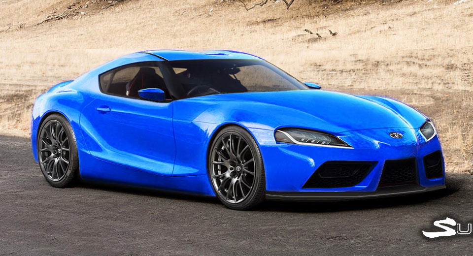 New Toyota Supra >> 2019 Toyota Supra Tries On A Slew Of Colors | Carscoops