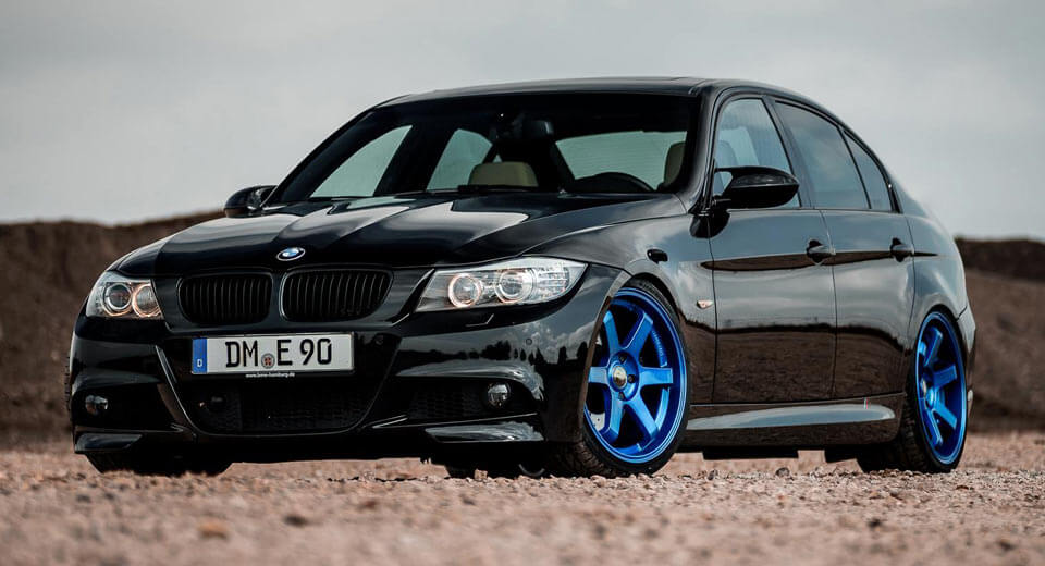 Bmw 3 series e90 wants to be a bad boy with z performance wheels bmw 3 series e90 wants to be a bad boy with z performance wheels carscoops sciox Image collections
