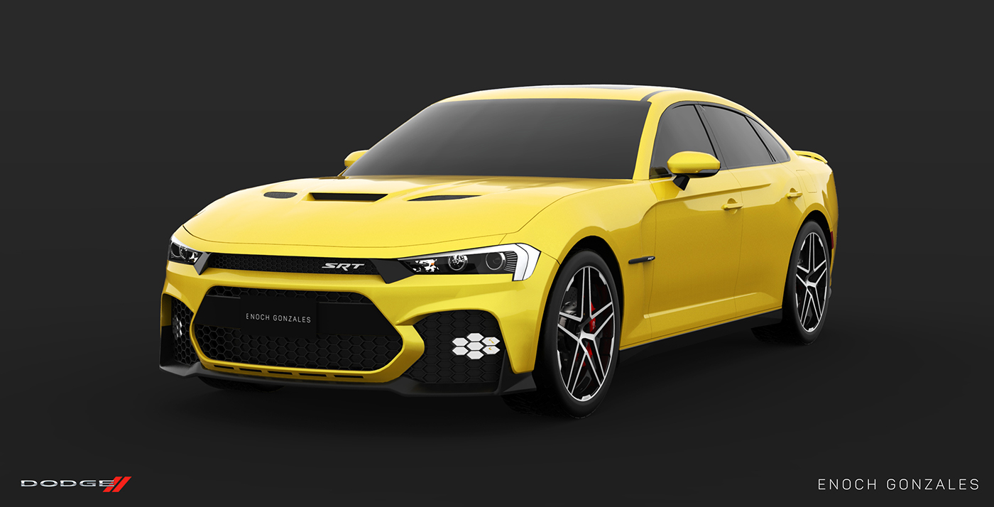 Here's A Take On The Facelifted 2019 Dodge Charger SRT ...