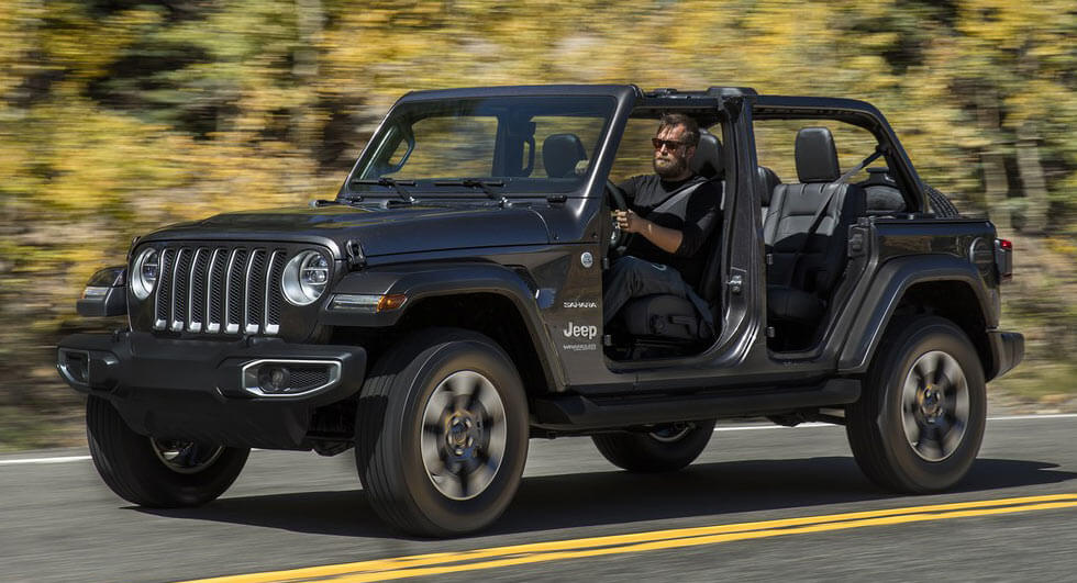 2018 jeep wrangler pricing starts at 28 190 carscoops. Black Bedroom Furniture Sets. Home Design Ideas