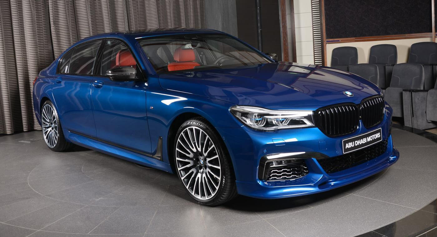 Bmw Aftermarket Parts >> Avus Blue 750Li Is An Alluring Mix Of BMW Individual And Aftermarket Parts   Carscoops