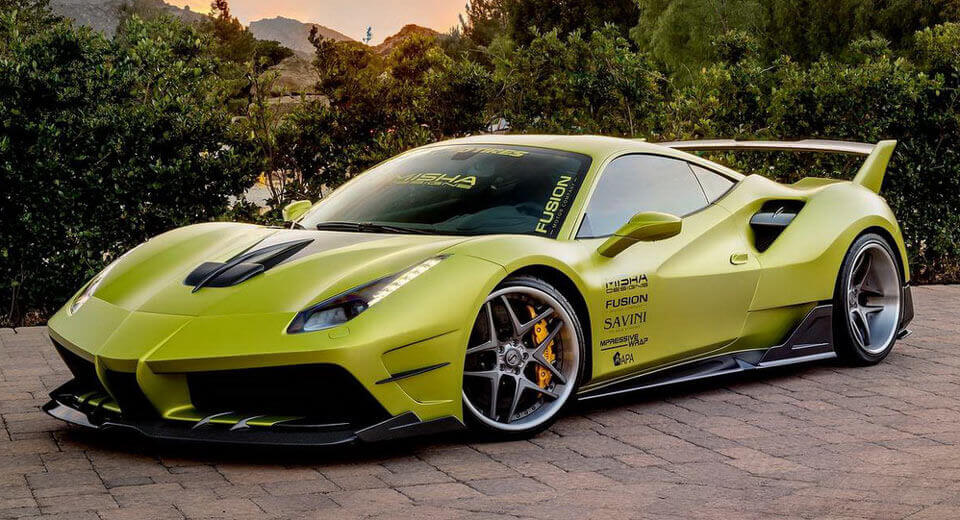 Ferrari 488 GTB By Misha Designs Is Absolutely OTT Carscoops