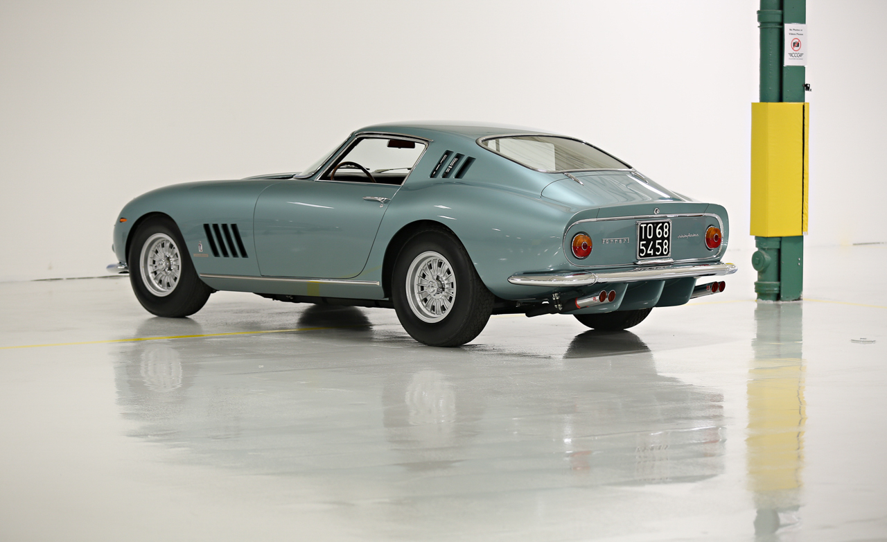 Battista Pininfarina S Own Ferrari 275 Speciale Is Beauty