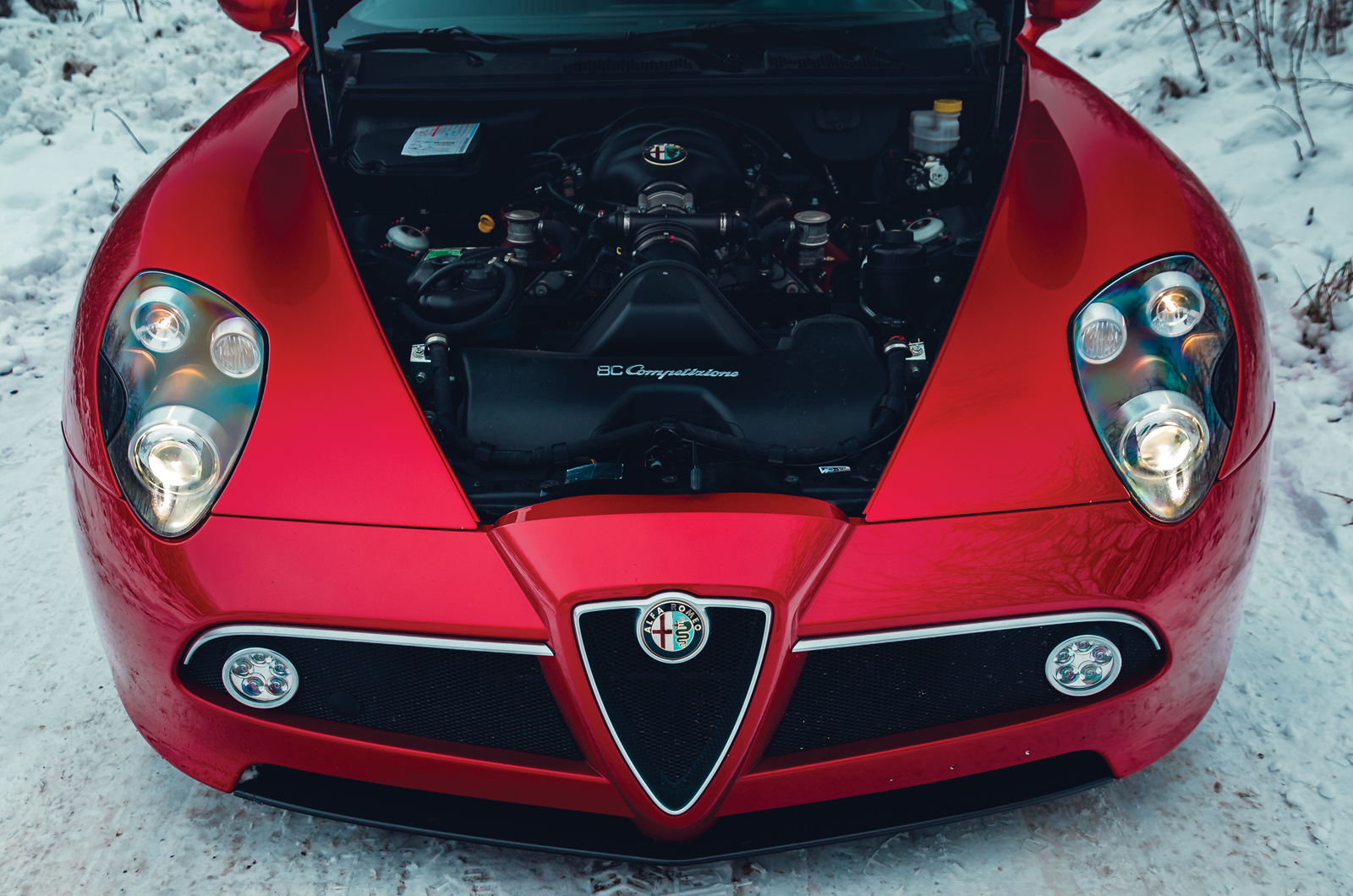 Alfa Romeo 8C Competizione Is Still Gorgeous A Decade