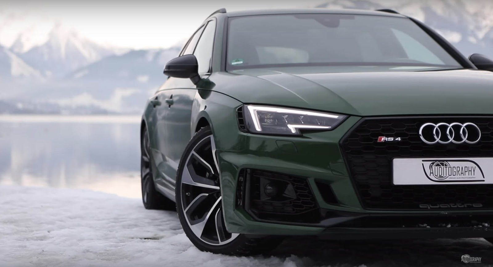 Sonoma Green Audi RS4 Avant Looks Like A Supermodel In The ...