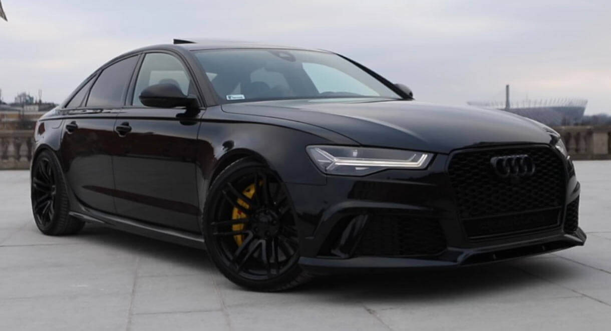This Is The Rs6 Sedan That Audi Never Built Carscoops