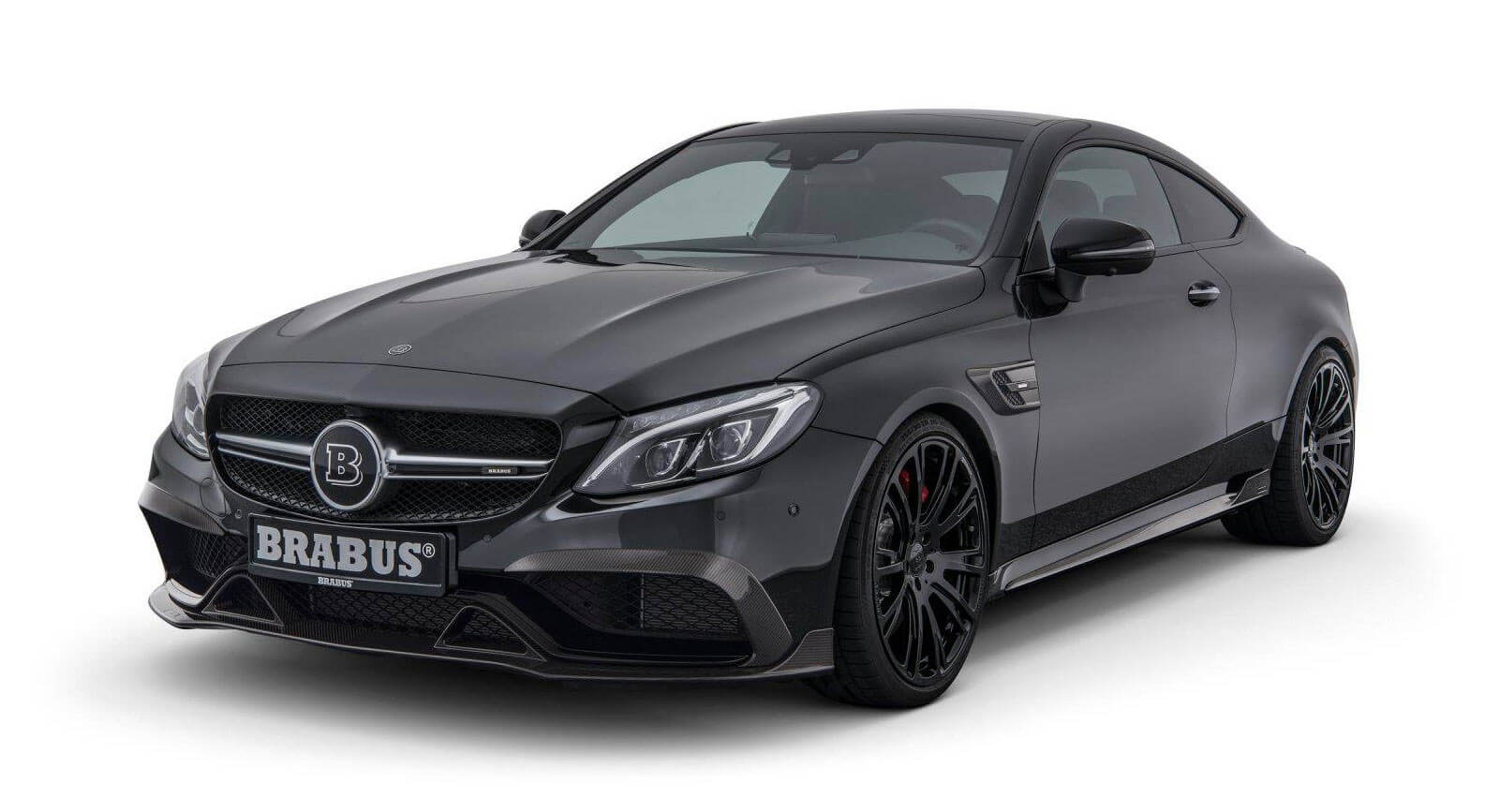 check out what brabus can do for your mercedes c63s coupe carscoops. Black Bedroom Furniture Sets. Home Design Ideas