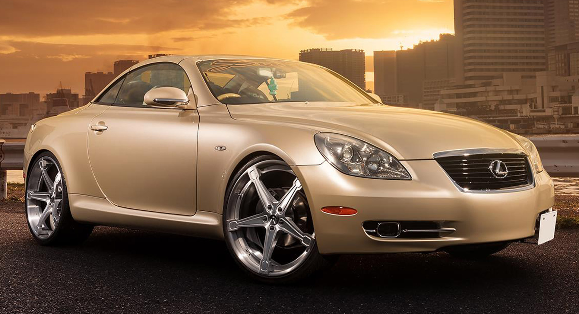 Are New Wheels Enough To Redeem The Lexus SC430? | Carscoops