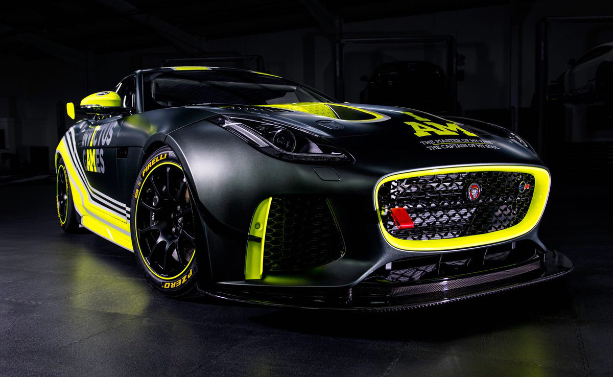 jaguar developed   type svr gt  wounded warriors carscoops