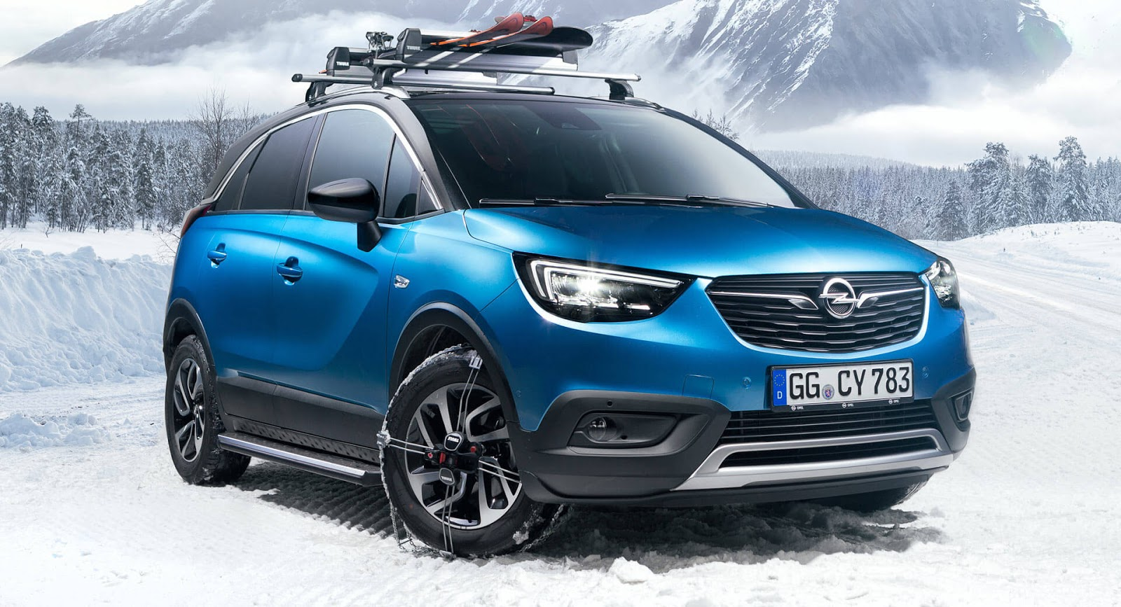 Thule Roof Box >> Spec Your Crossland X With Original Accessories From Opel ...