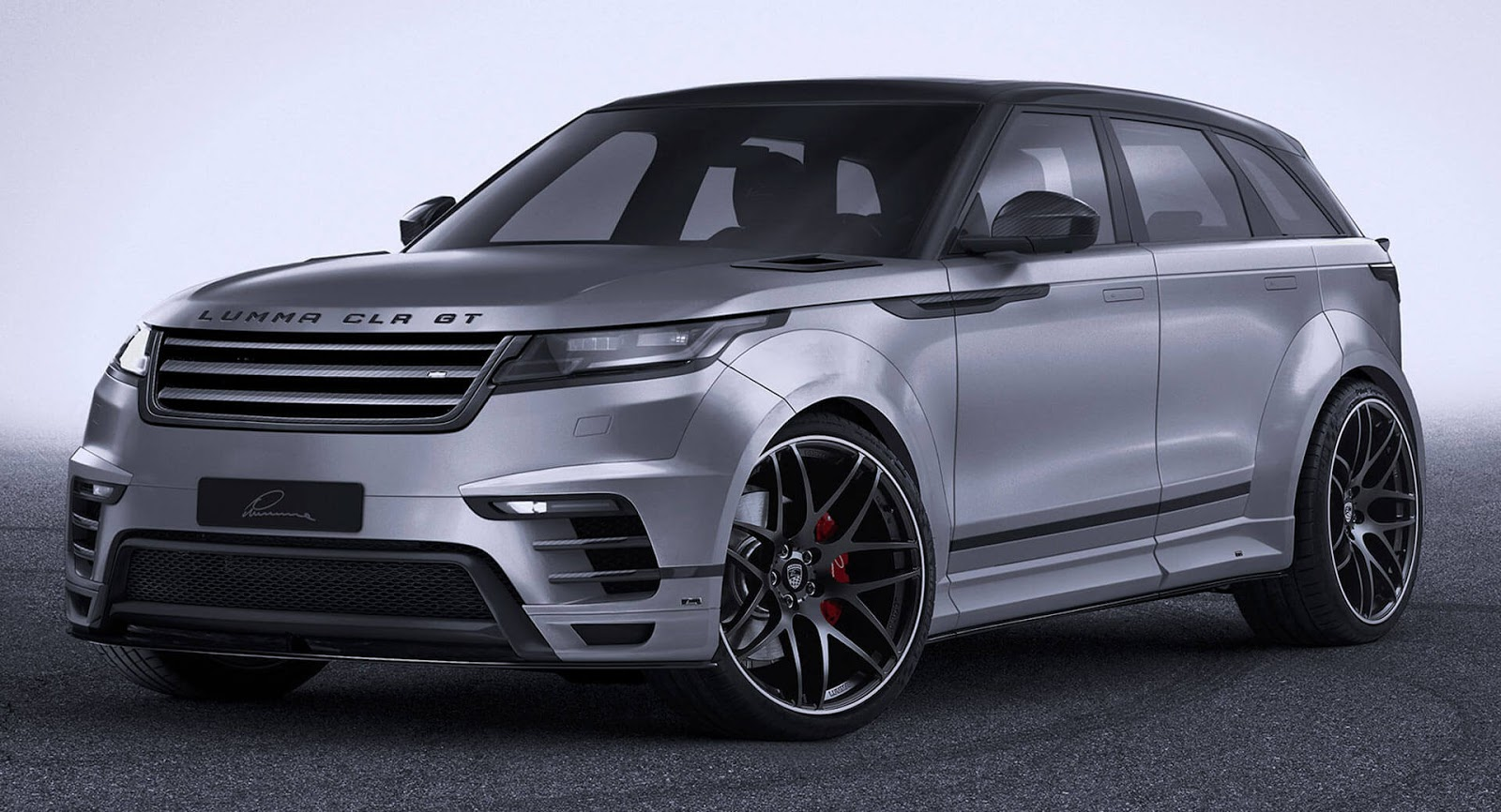 widebody range rover velar by lumma is all show with no extra go carscoops. Black Bedroom Furniture Sets. Home Design Ideas