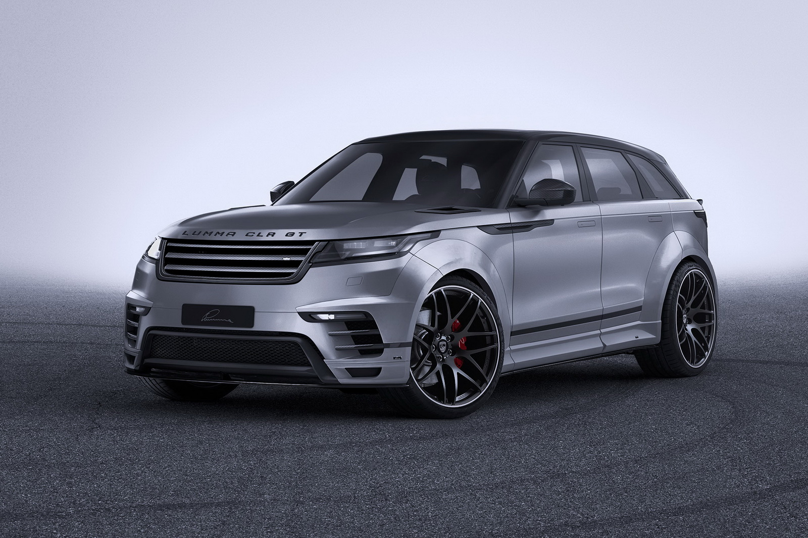 What Is Aluminum Made Of >> Widebody Range Rover Velar By Lumma Is All Show With No Extra Go | Carscoops