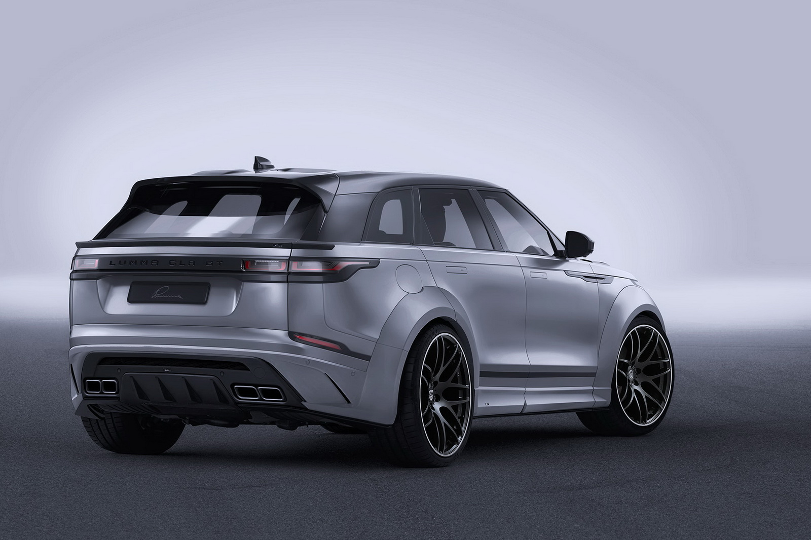 widebody range rover velar by lumma is all show with no. Black Bedroom Furniture Sets. Home Design Ideas