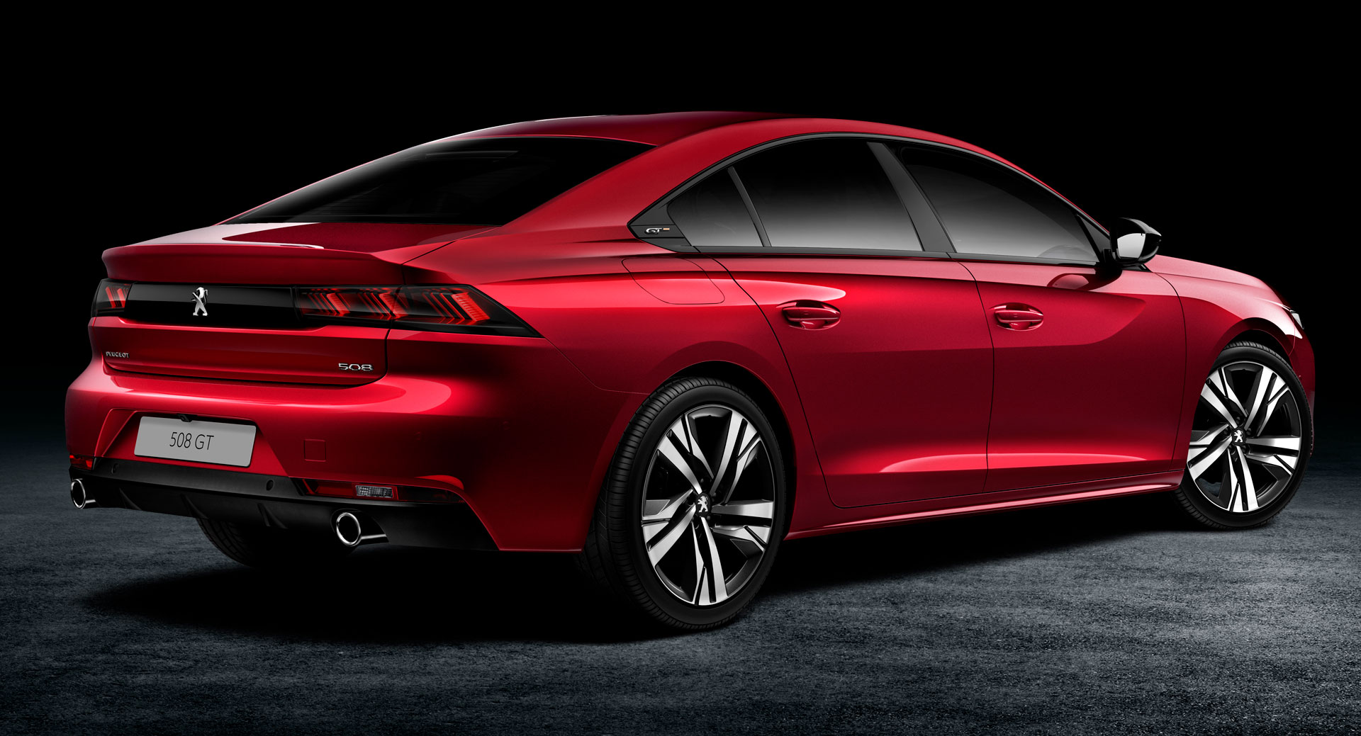 2018 peugeot 508 officially reveals its slick fastback bodystyle carscoops. Black Bedroom Furniture Sets. Home Design Ideas