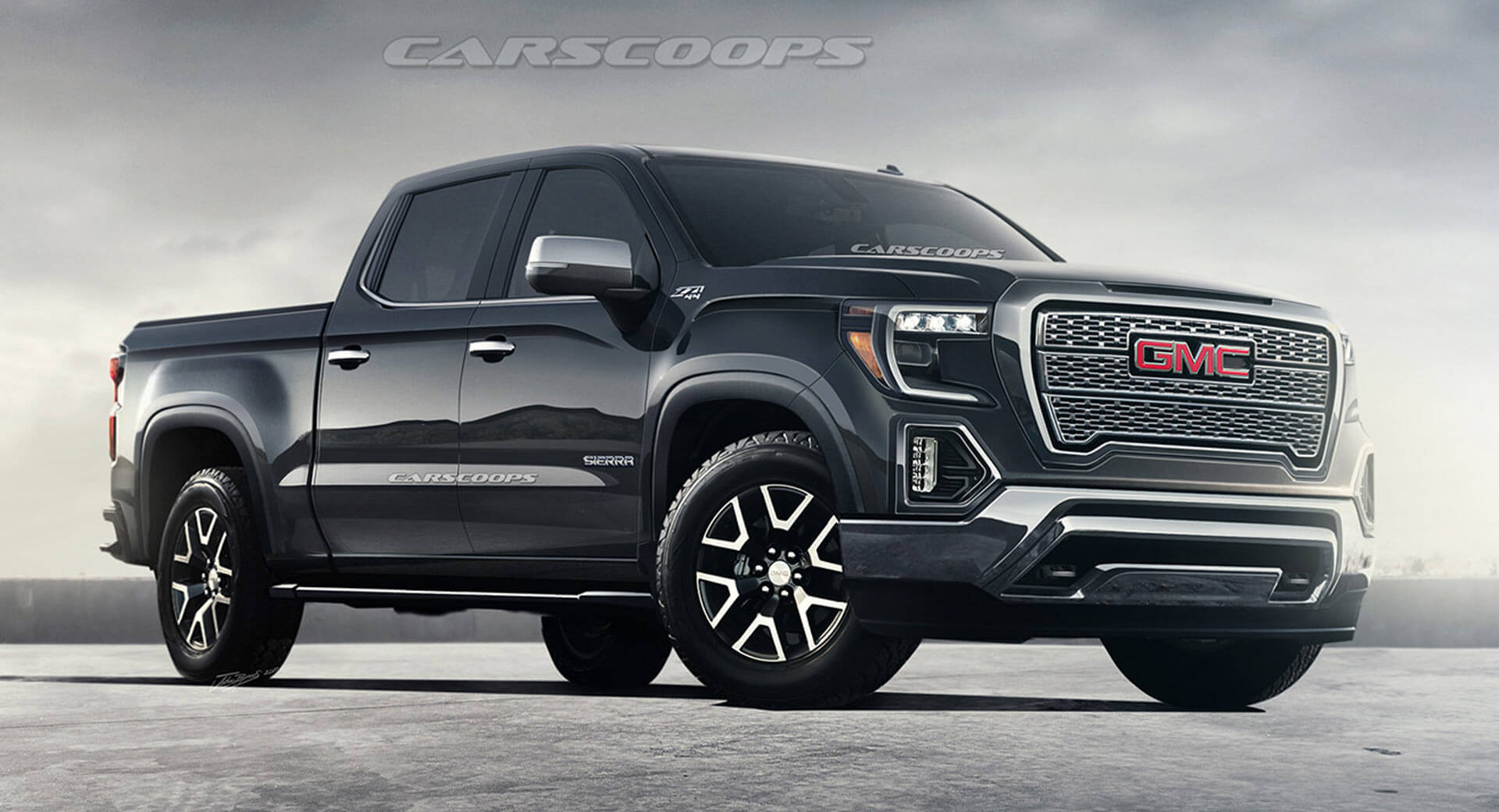 2019 GMC Sierra To Debut In Detroit Next Month | Carscoops
