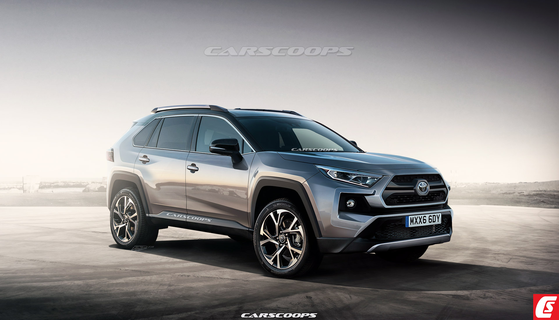 2019 toyota rav4 everything we know from specs news to renders and teasers updated carscoops. Black Bedroom Furniture Sets. Home Design Ideas
