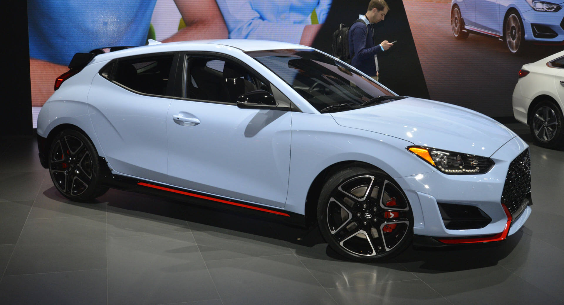 Hyundai Veloster N Takes A Bow In Chicago Carscoops