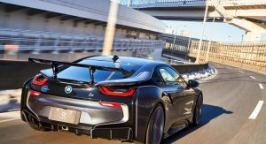 Japan S 3d Design Gives Bmw I8 A Racier Makeover Carscoops