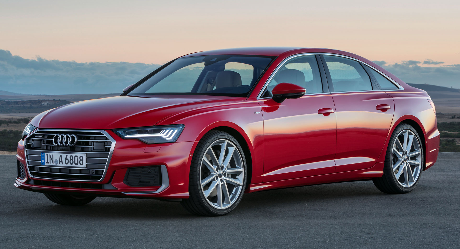 2019 audi a6 revealed look close and you might see an all new model carscoops. Black Bedroom Furniture Sets. Home Design Ideas