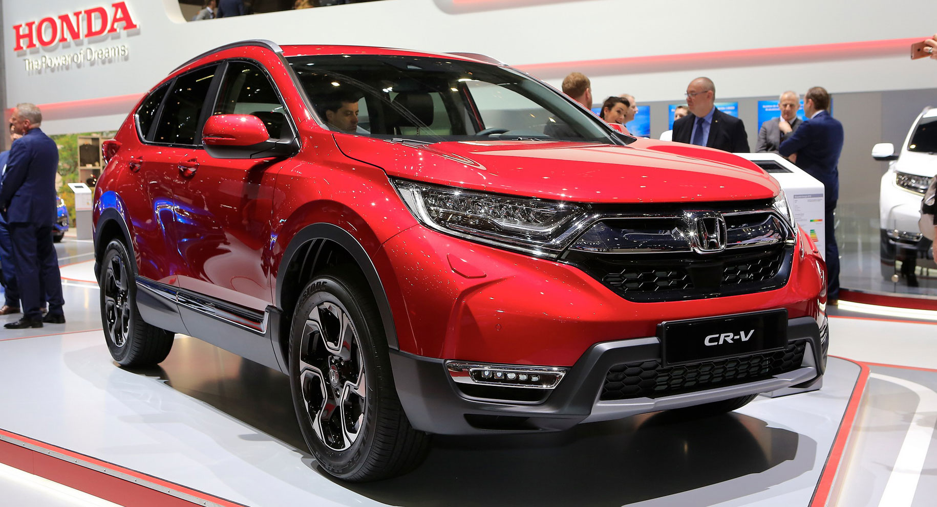 Euro-Spec 2018 Honda CR-V Arrives With Hybrid And 7-Seat Options | Carscoops
