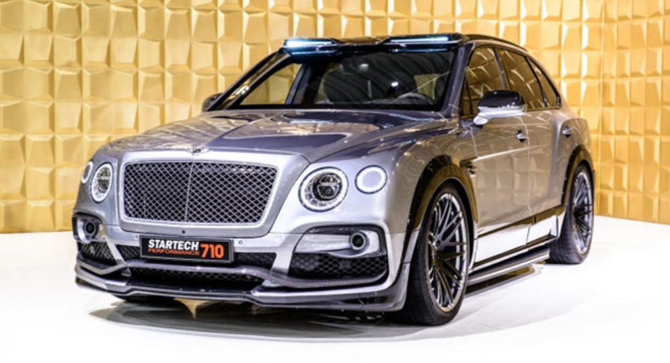 Bentley Bentayga Goes From Super To Hyper SUV With Startech's ...