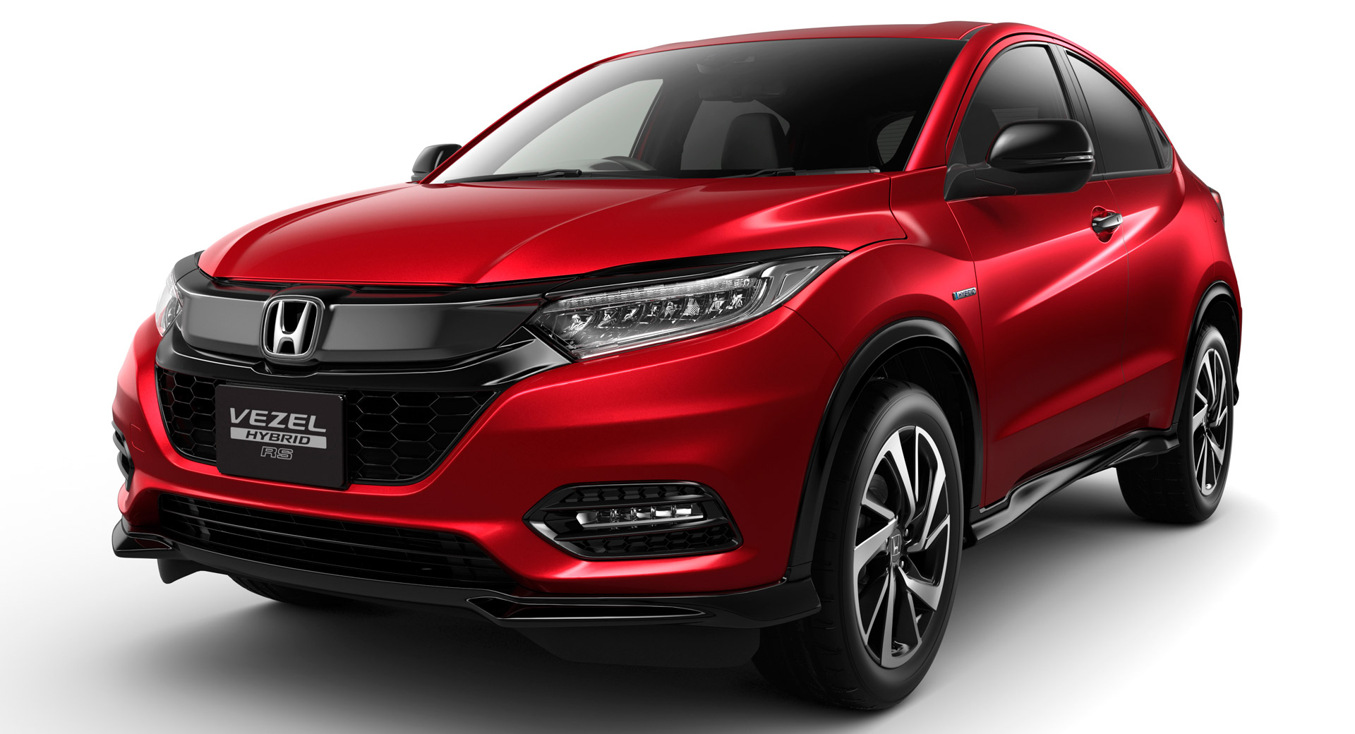 honda vezel relaunches in japan with a mild facelift carscoops. Black Bedroom Furniture Sets. Home Design Ideas