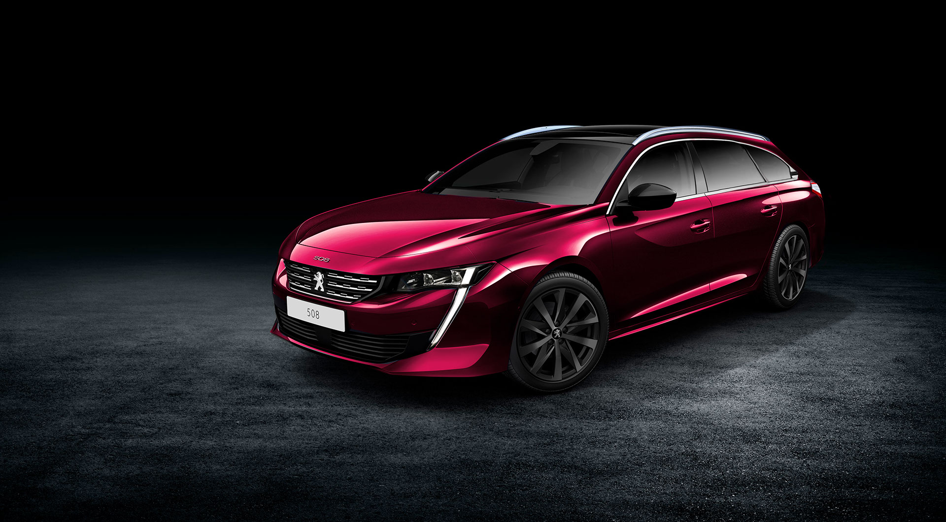 2018 peugeot 508 spawns estate and rxh variants of the digital kind carscoops. Black Bedroom Furniture Sets. Home Design Ideas