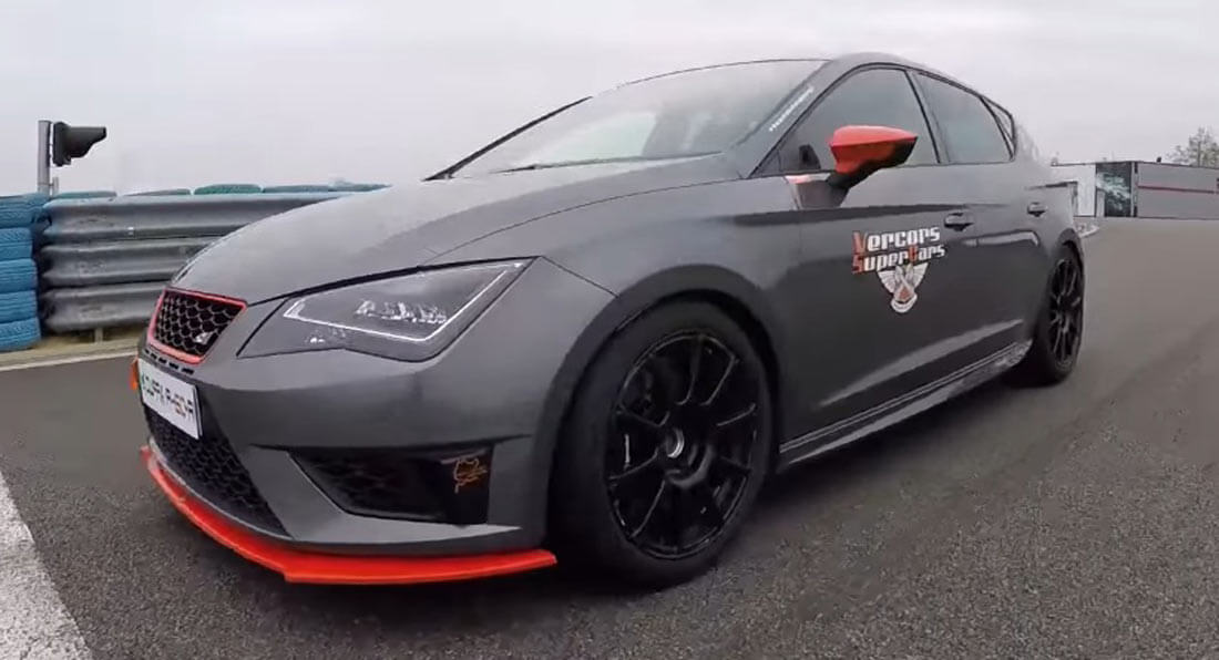 450 hp seat leon cupra is tuned hyper hatch perfection. Black Bedroom Furniture Sets. Home Design Ideas