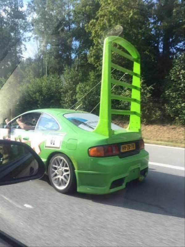 Wingo From Cars Hits The Road As An Old Toyota Celica