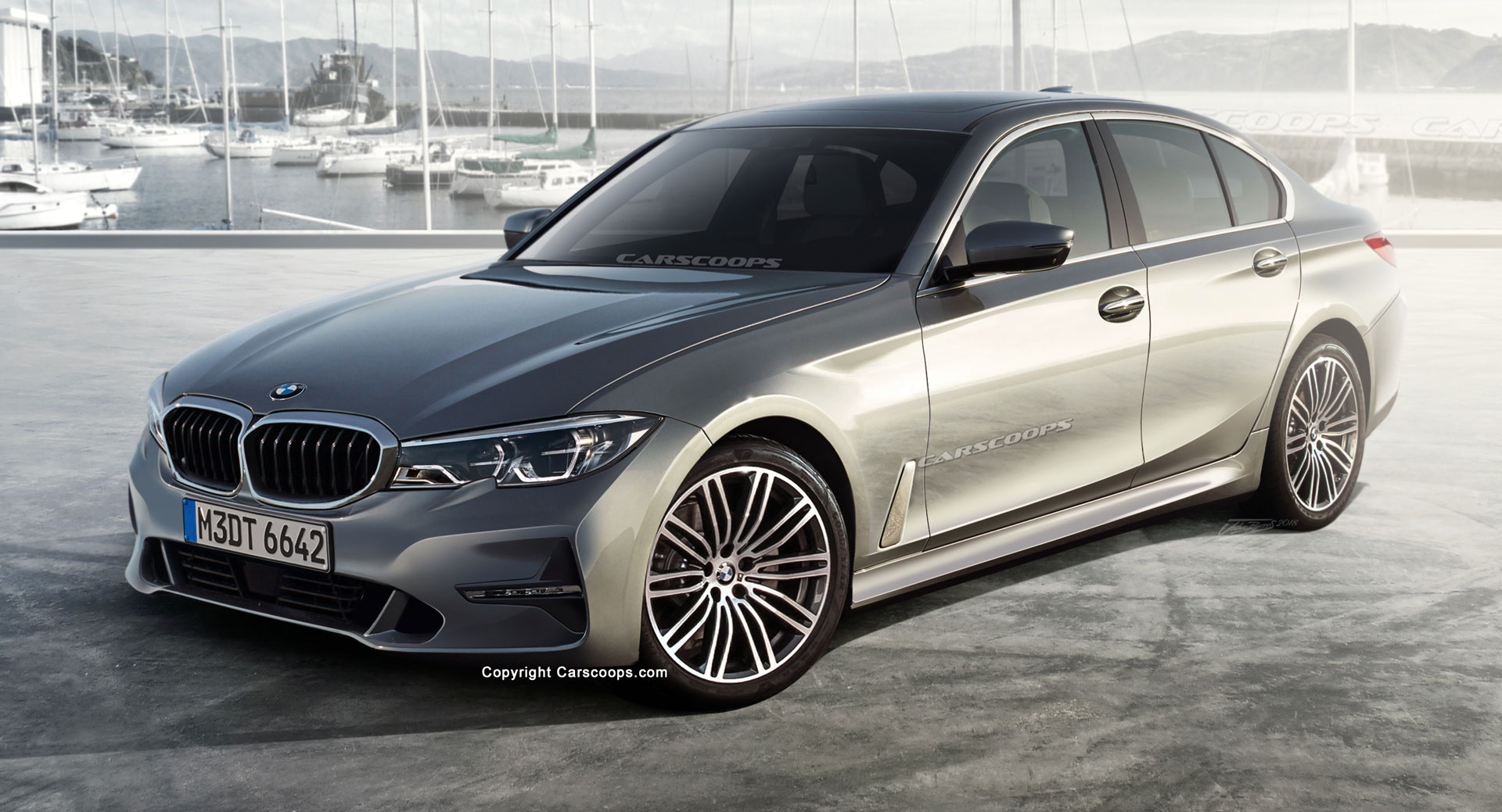 2019 bmw 3 series this is what we think the new g20 will look like carscoops. Black Bedroom Furniture Sets. Home Design Ideas